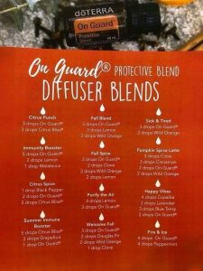 On Guard diffuser blends