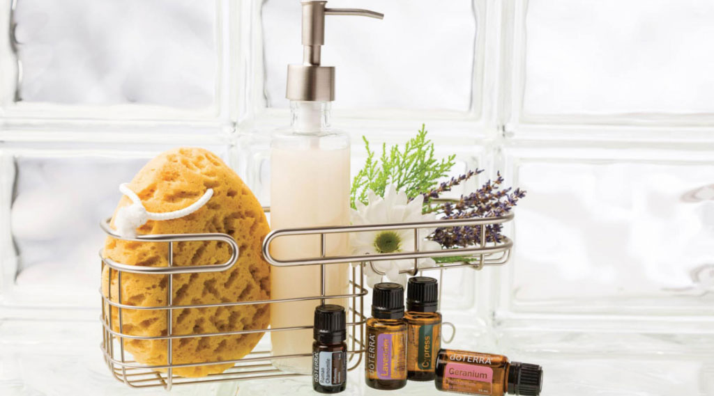 body wash doTERRA Healingoils
